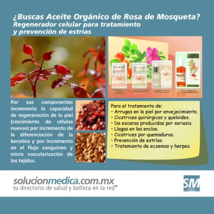 Aceite orgánico de Rosa de Mosqueta